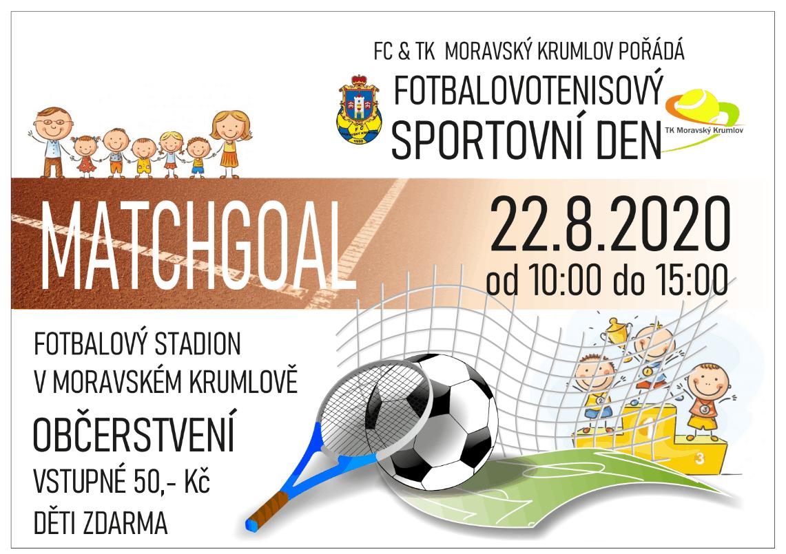 FCMK ve spolupráci s tenis. oddílem pořádá 22.8 Dětský sportovní den. Začátek v 10:00