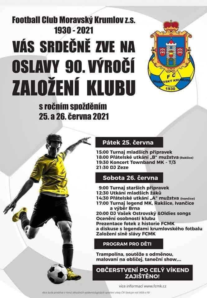 Read more about the article FCMK slaví 90.let od založení klubu